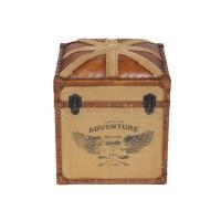 Столик-сундук Secret De Maison UNION-JACK ( mod. M-8622 ) — коричневый