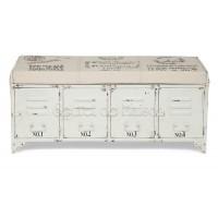 Банкетка Secret De Maison STEEL ( mod. M-14527 ) — белый