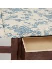 Гладильный комод с 1 корзиной и 1 ящиком Secret De Maison LA GRAN (mod.XD1156) — коричневый