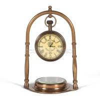 Часы с компасом Secret De Maison  (mod. 51445) — античная медь