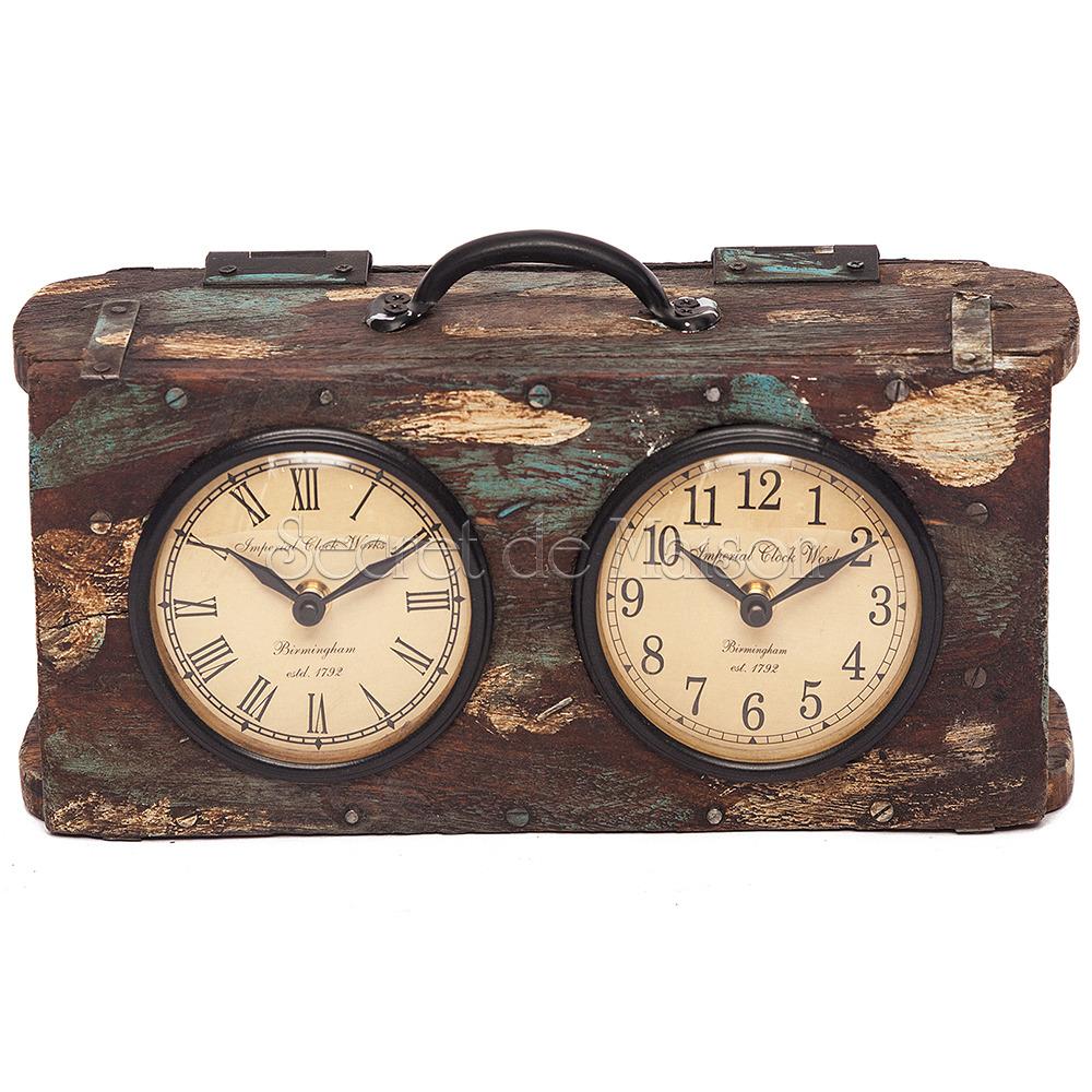 Часы Secret De Maison BI-CLOCK  ( mod. FS-1512) — натуральный