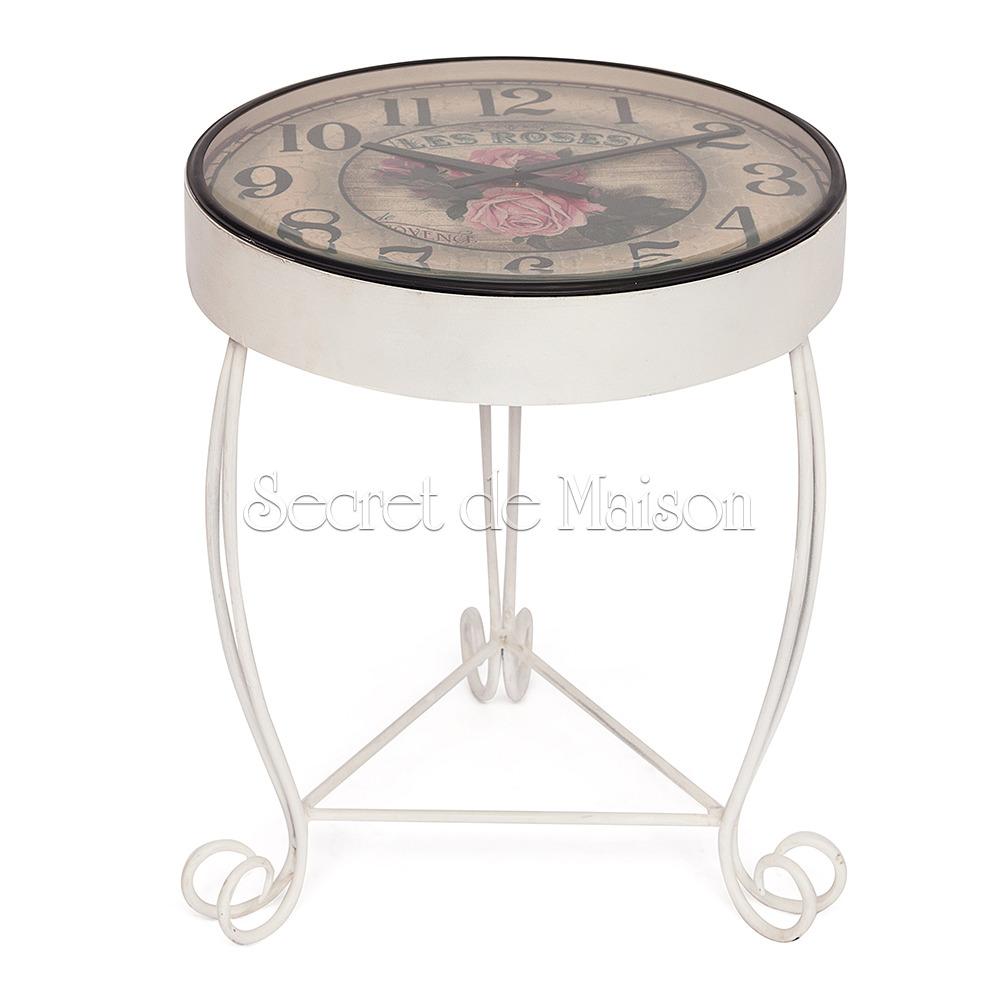 Стол-часы Secret De Maison ROSETTA ( mod. IT-001) — коричневый