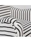 Кресло Secret De Maison SONDRIO — черный/белый