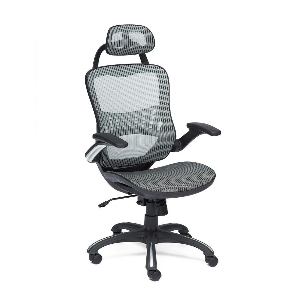 Кресло офисное MESH-1 — серый