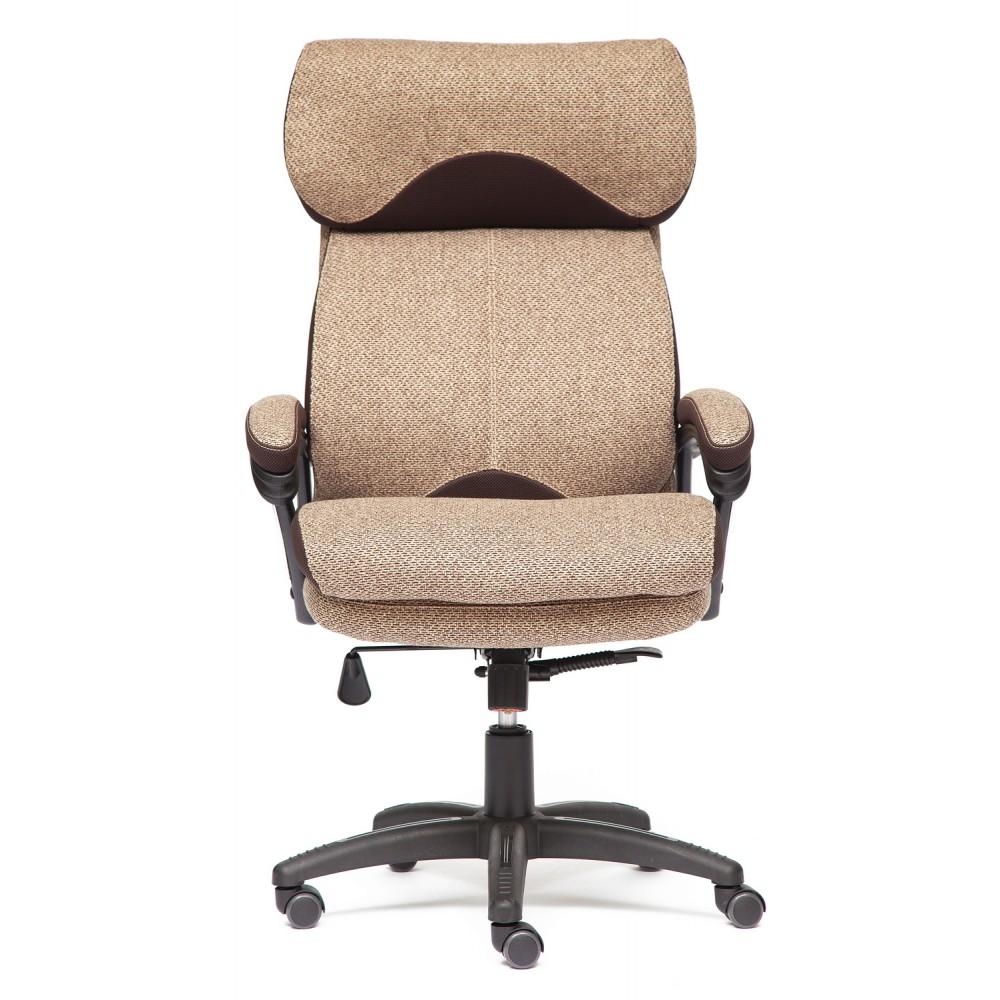 Кресло офисное DUKE — коричневый