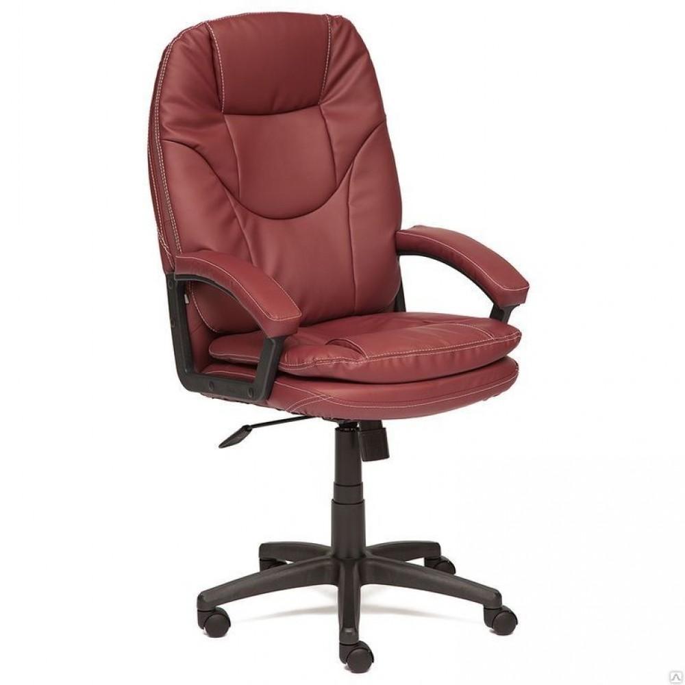 Кресло офисное COMFORT LT — бордовый