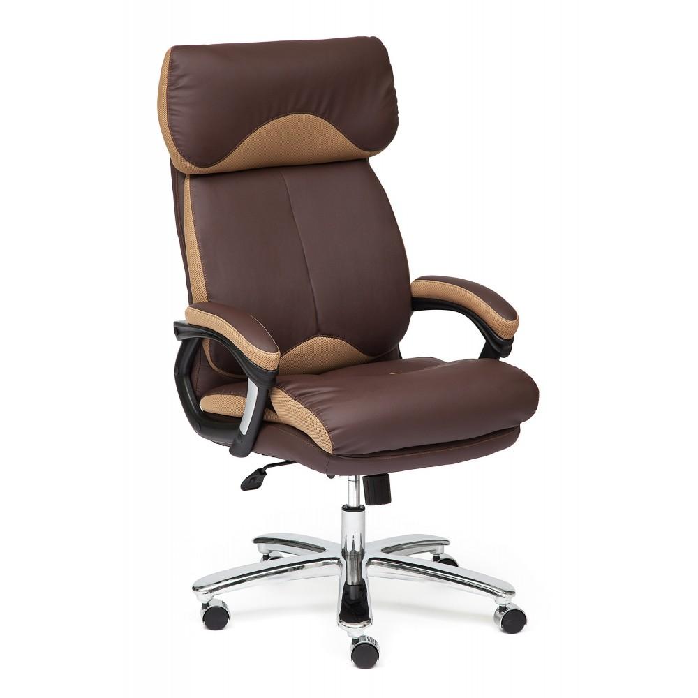 Кресло офисное GRAND — коричневый/бронзовый