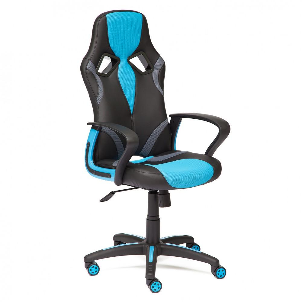 Кресло компьютерное RUNNER — голубой