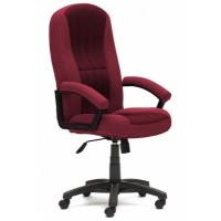 Кресло офисное СН888 — бордовый