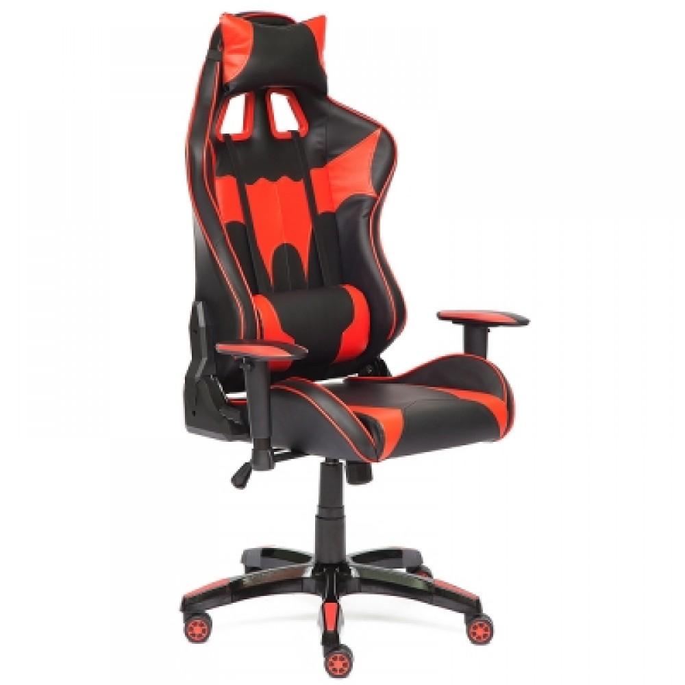 Кресло офисное iBat — черный/красный