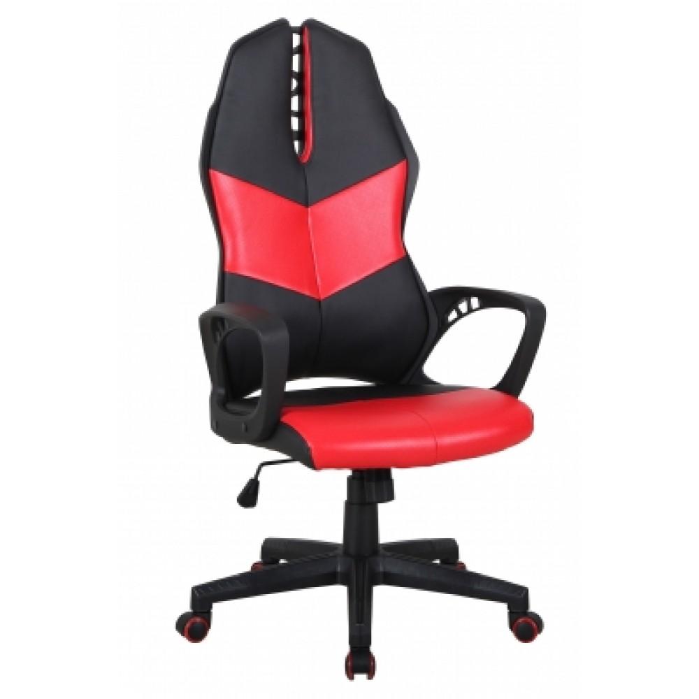Кресло офисное iWheel — черный/красный