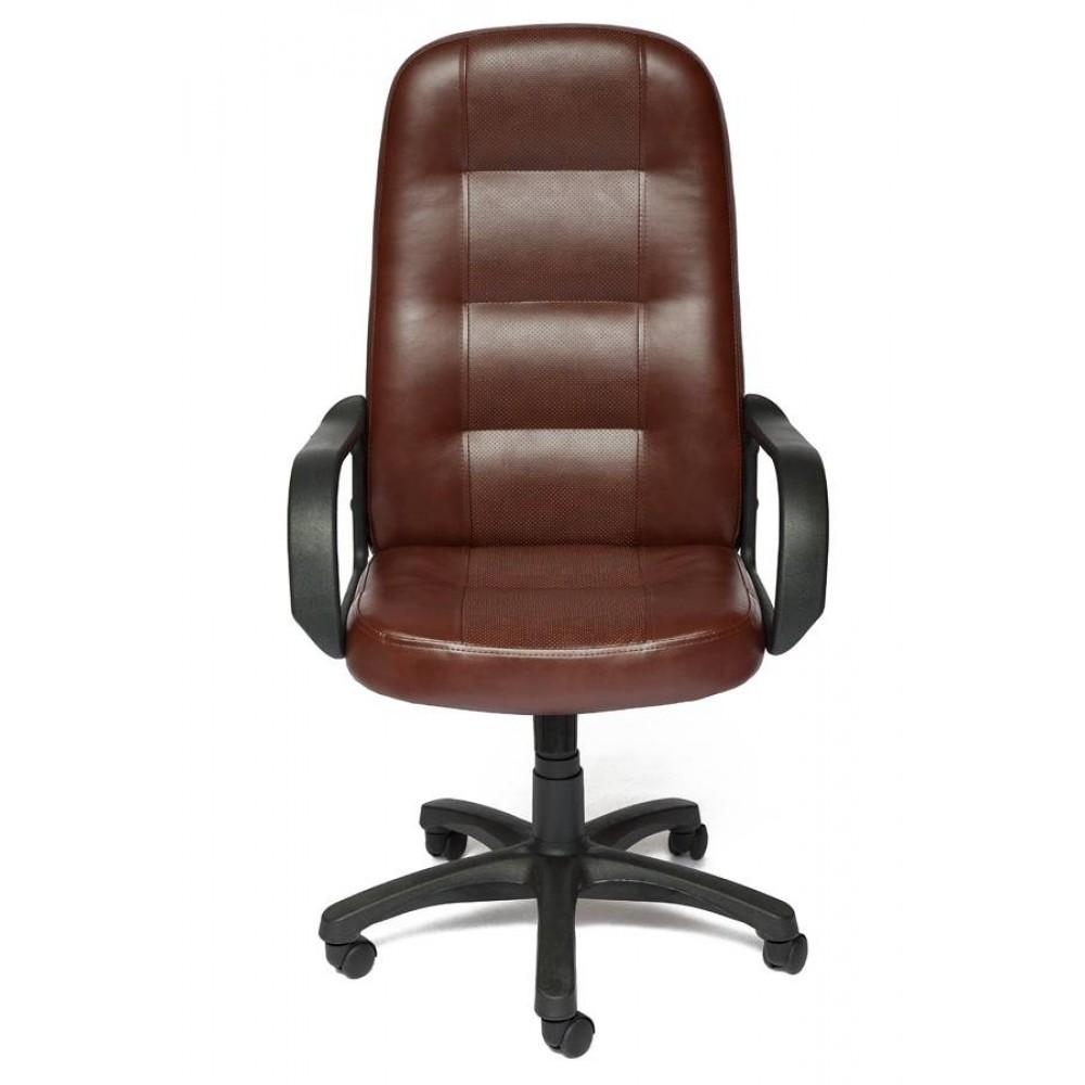 Кресло компьютерное Дэвон (Devon) — коричневый/коричневый перфорированный (2 TONE/2 TONE /06)