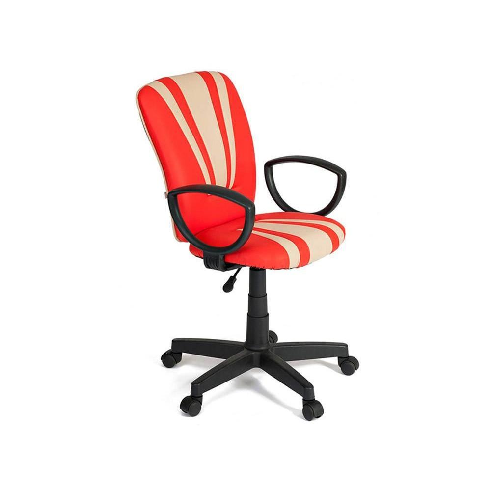 Кресло Спектрум (SPECTRUM) — красный/бежевый (36-161/36-34)