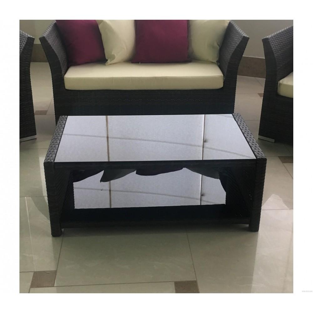 Кофейный столик (ST16) —  Коричневый (MK-3627-RB)