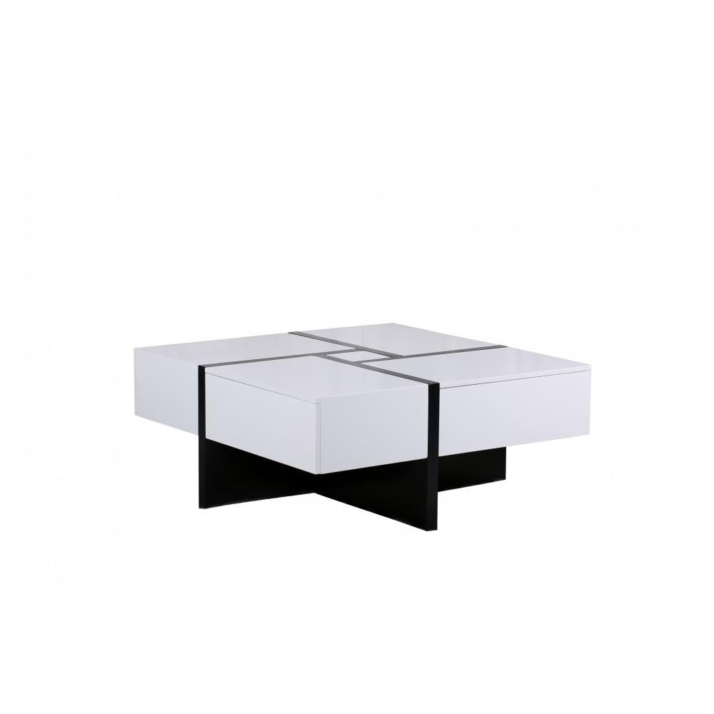 """Журнальный столик """"Меса (Mesa)"""" —  Белый (MK-4327-WT)"""