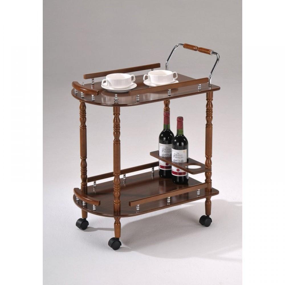 Сервировочный столик — Тёмный орех (MK-6310)