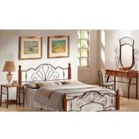 Кровать FD 871 160*203 Темная вишня