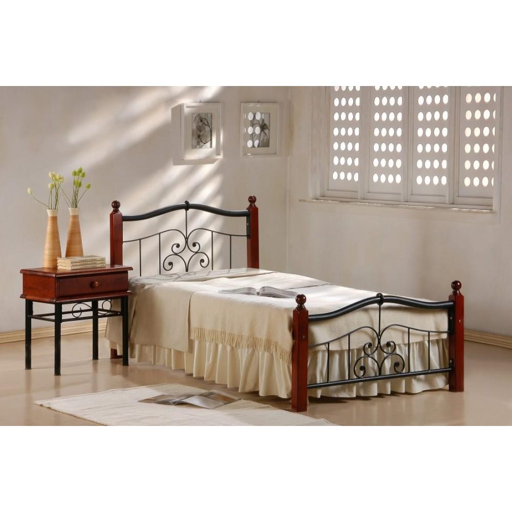 Кровать АТ-9071 Темная вишня