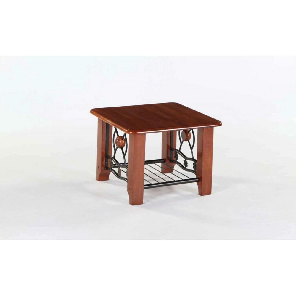 Столик PS 701 61х61х44 Чайный столик Темная вишня