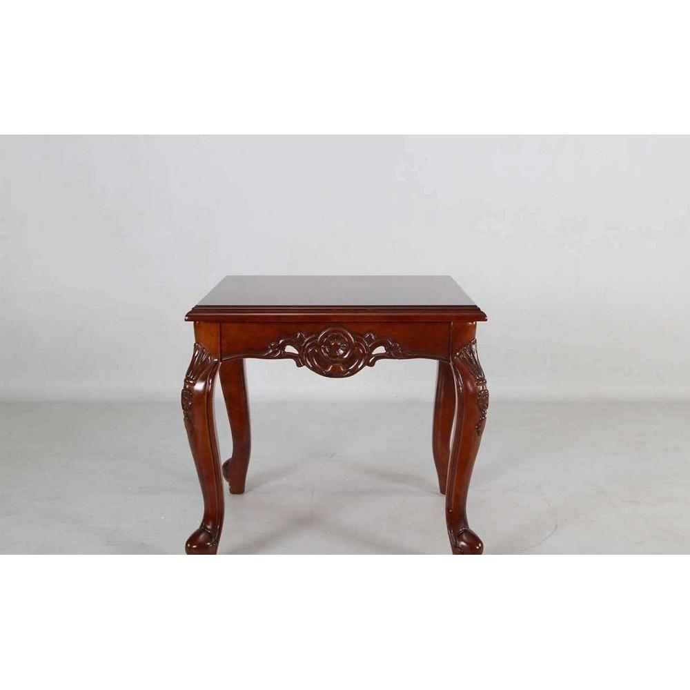 Стол кофейный 20901  Темная вишня