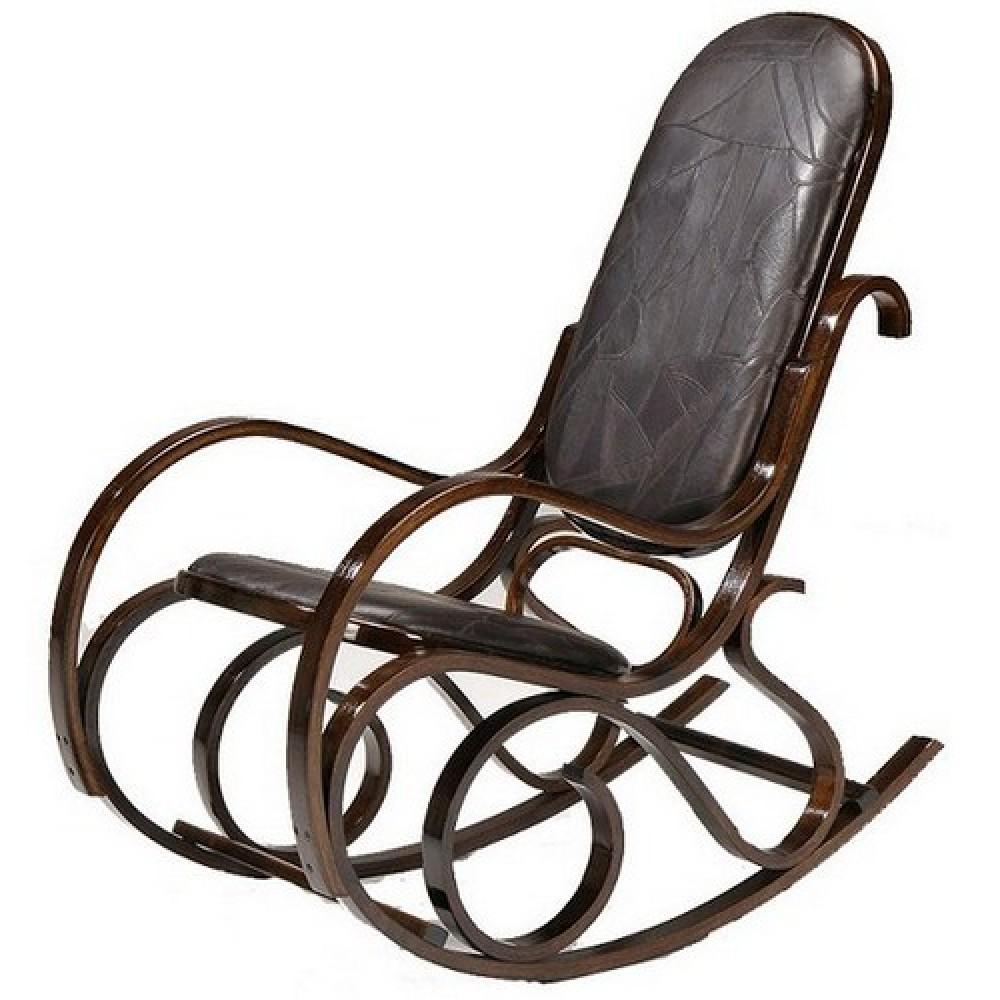 Кресло-качалка RC-8001 — Орех