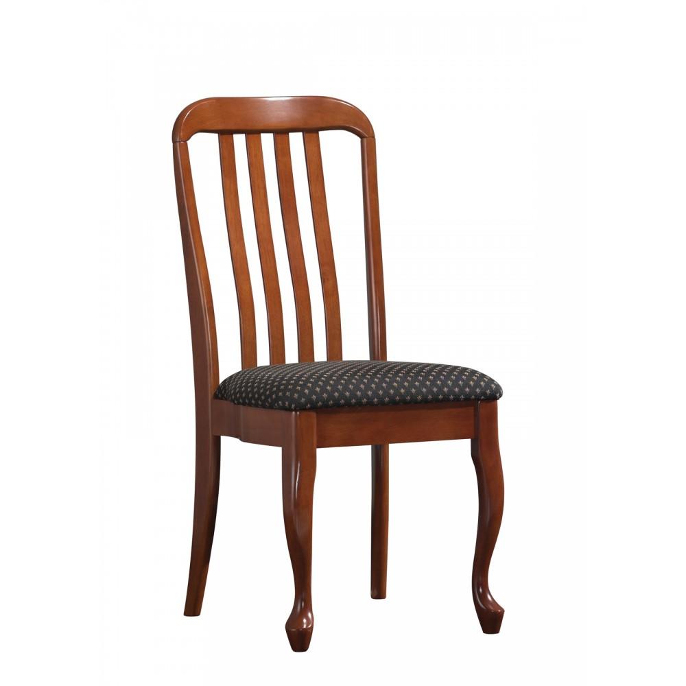 Стул Палермо с мягким сиденьмPalermo ( PM-SC2 ) MAF Brown, ткань Королевская лилия (F2030B)