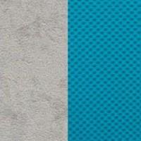 серый/голубой