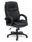 Кресло Тонет (OREON) — черный/черный перфорированный