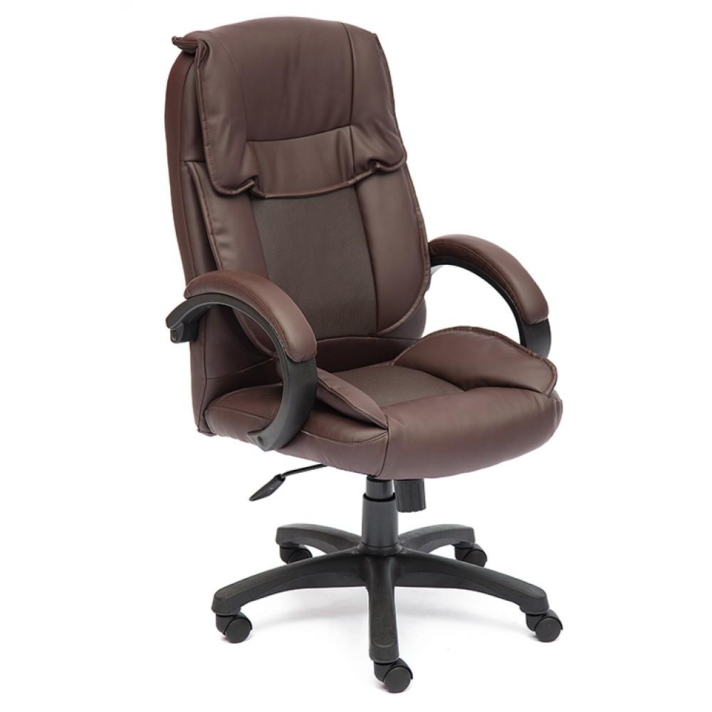 Кресло Тонет (OREON) — коричневый/коричневый перфорированный
