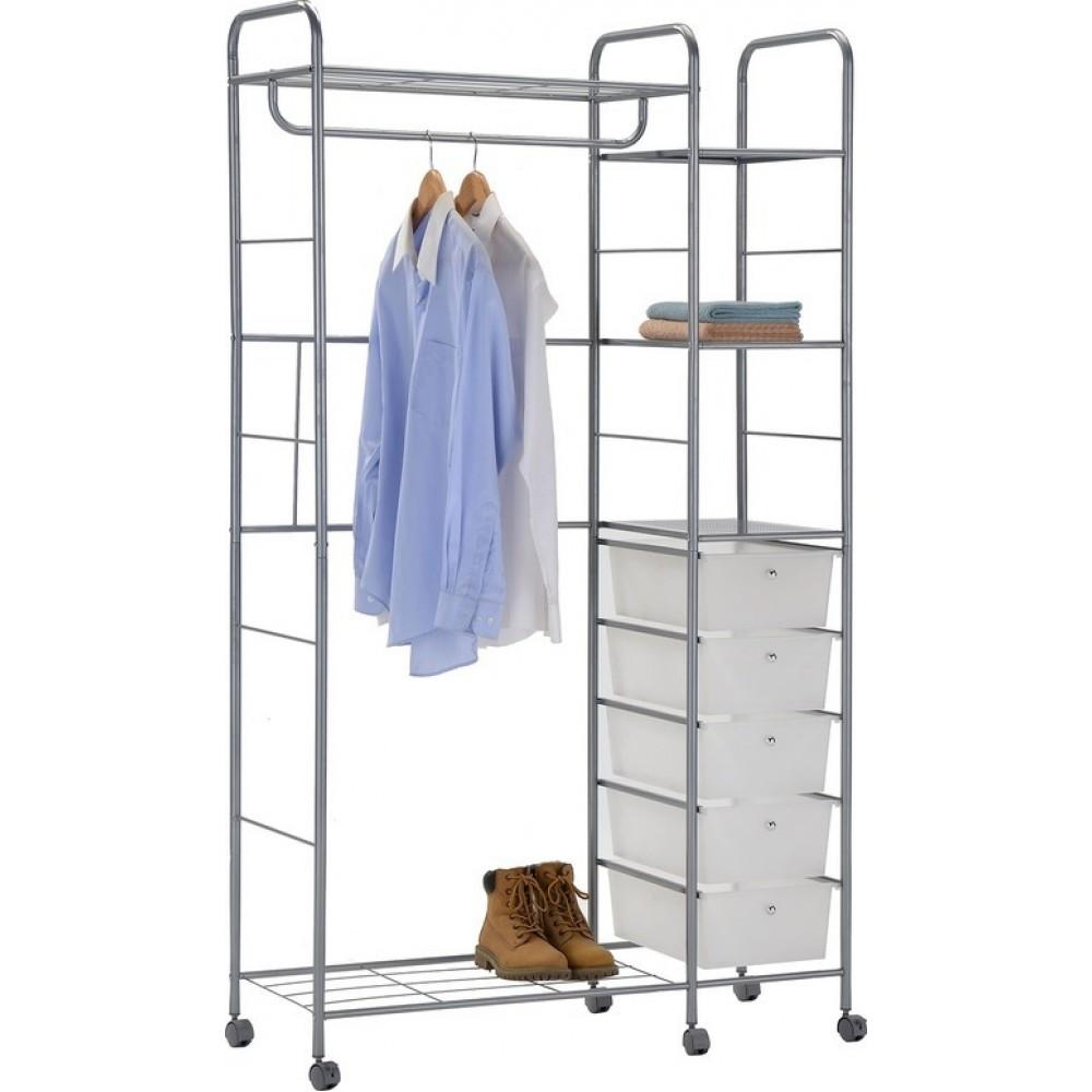 Вешалка для гардеробных с ящиками CH-4617 (MK-2342)