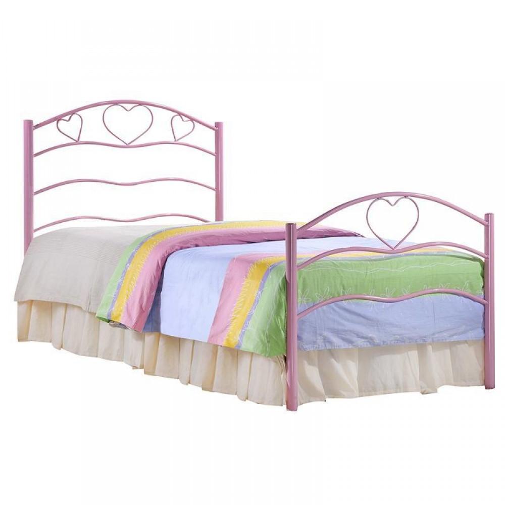 Детская односпальная кровать Рокси (Roxie) Розовый