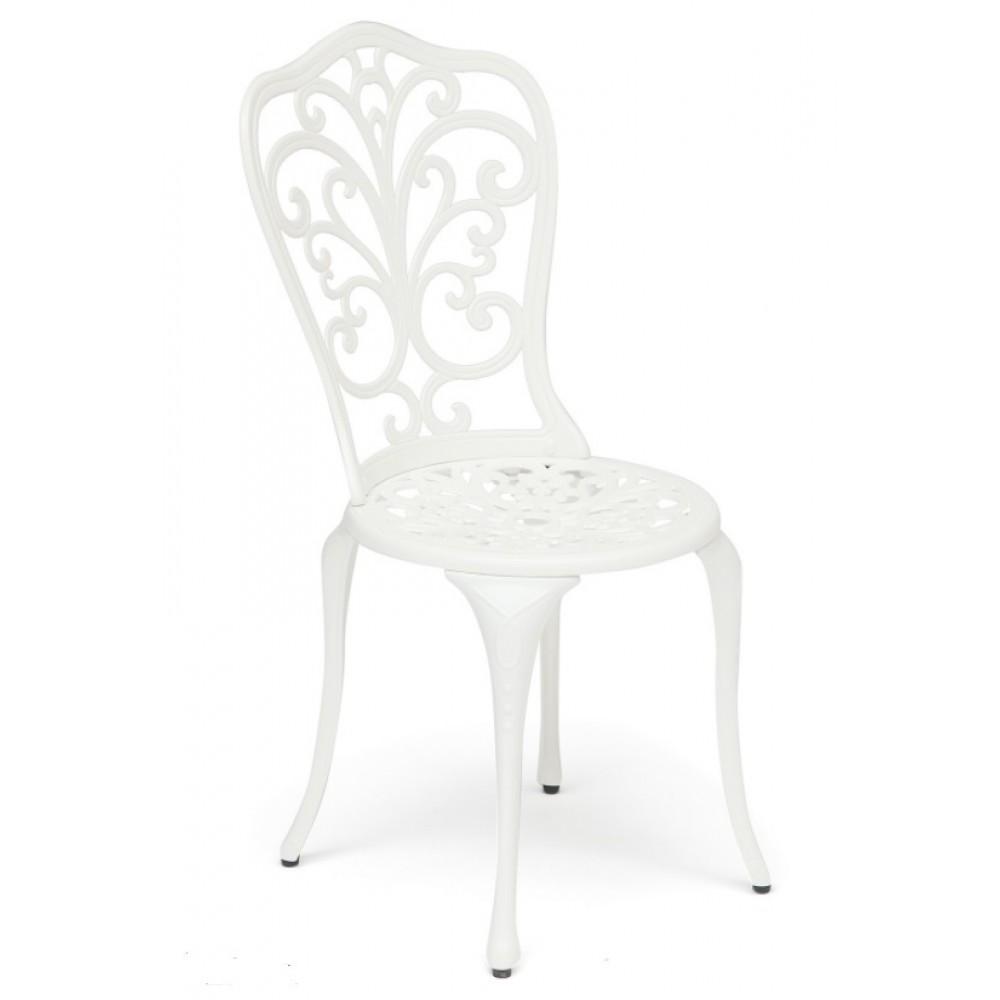 Стул кованый Моцарт (Secret De Maison Mozart) Белый — Butter white (Светло кремовый)