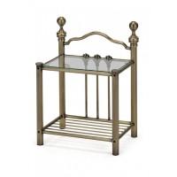 Тумба прикроватная Дерби (Derby) Antique Brass — Античная медь (Antique Brass)