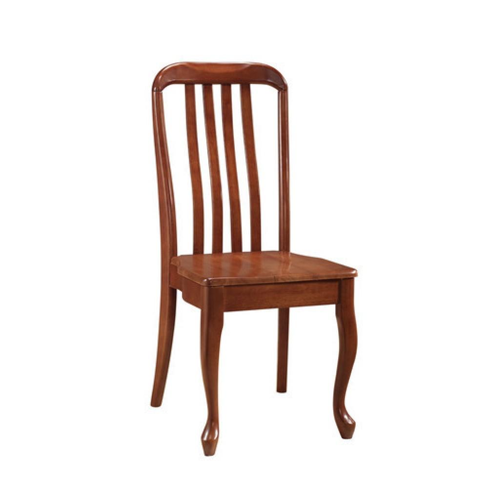 Стул с твердым сиденьем Палермо ((Palermo PM-SC2(4W)) Maf brown — Maf brown (коричневый в рыжину)