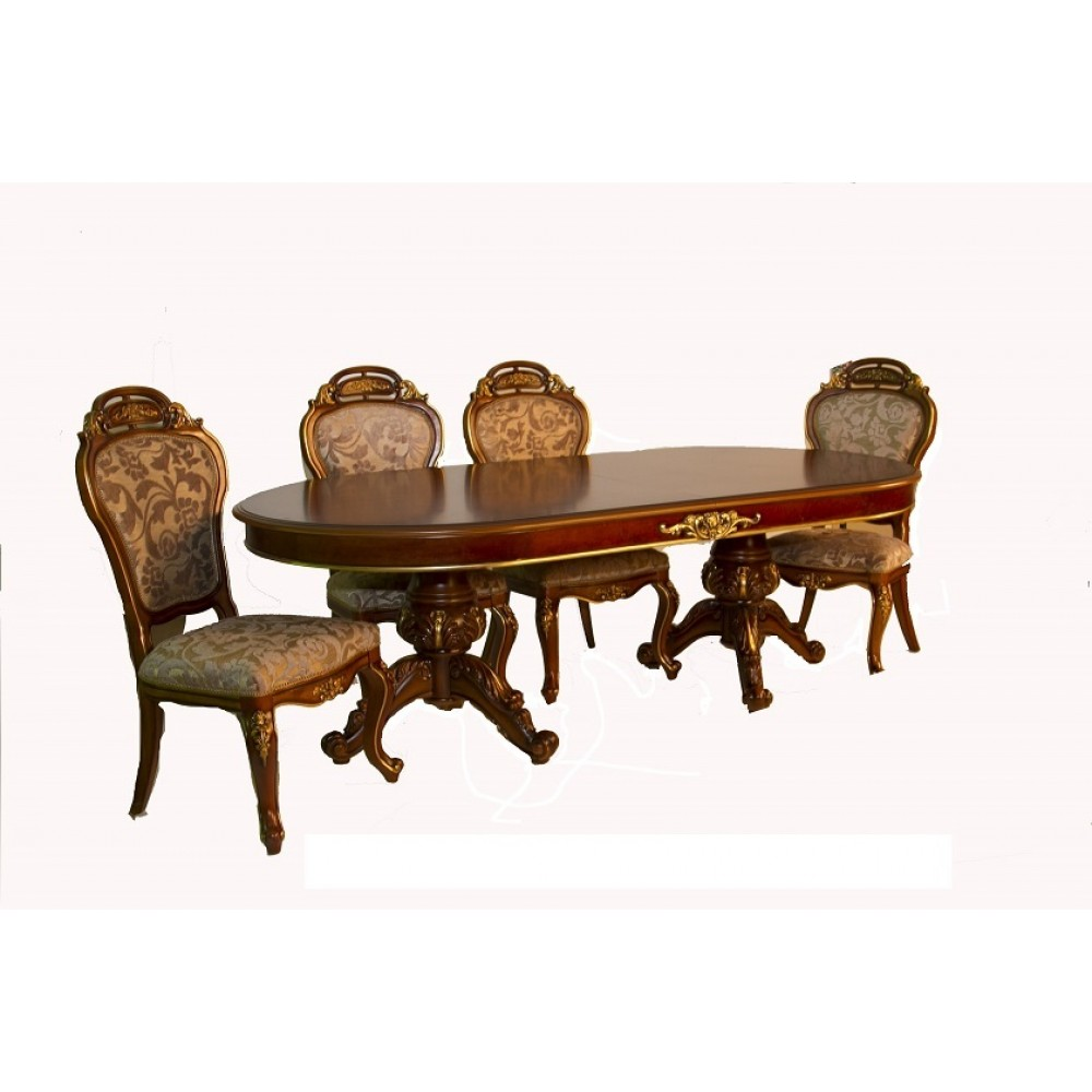 Стол обеденный Юлиана (3172 MK-3043-BR) Тесный орех