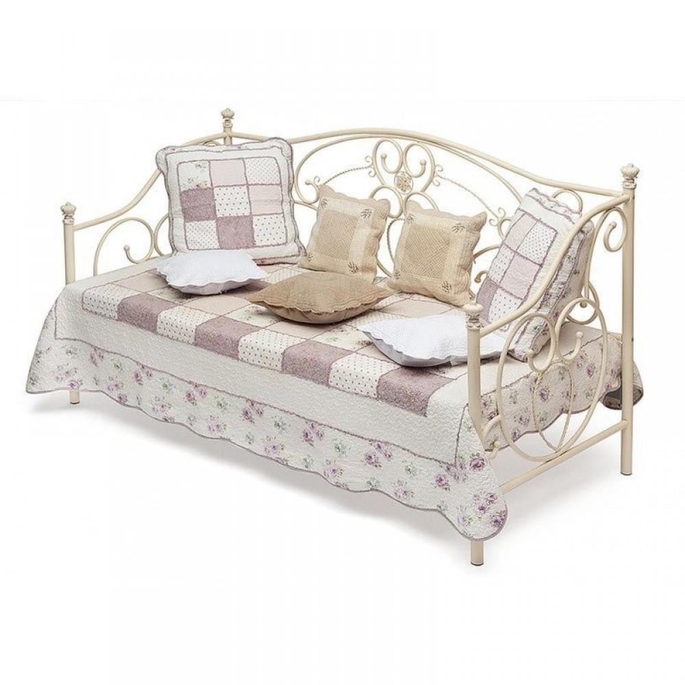 Кровать-кушетка Джейн 200x90 (Jane) Античный белый — Античный белый