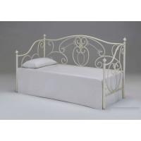 Кровать-кушетка 9910 200x90 (MK-2217-AW) Античный белый