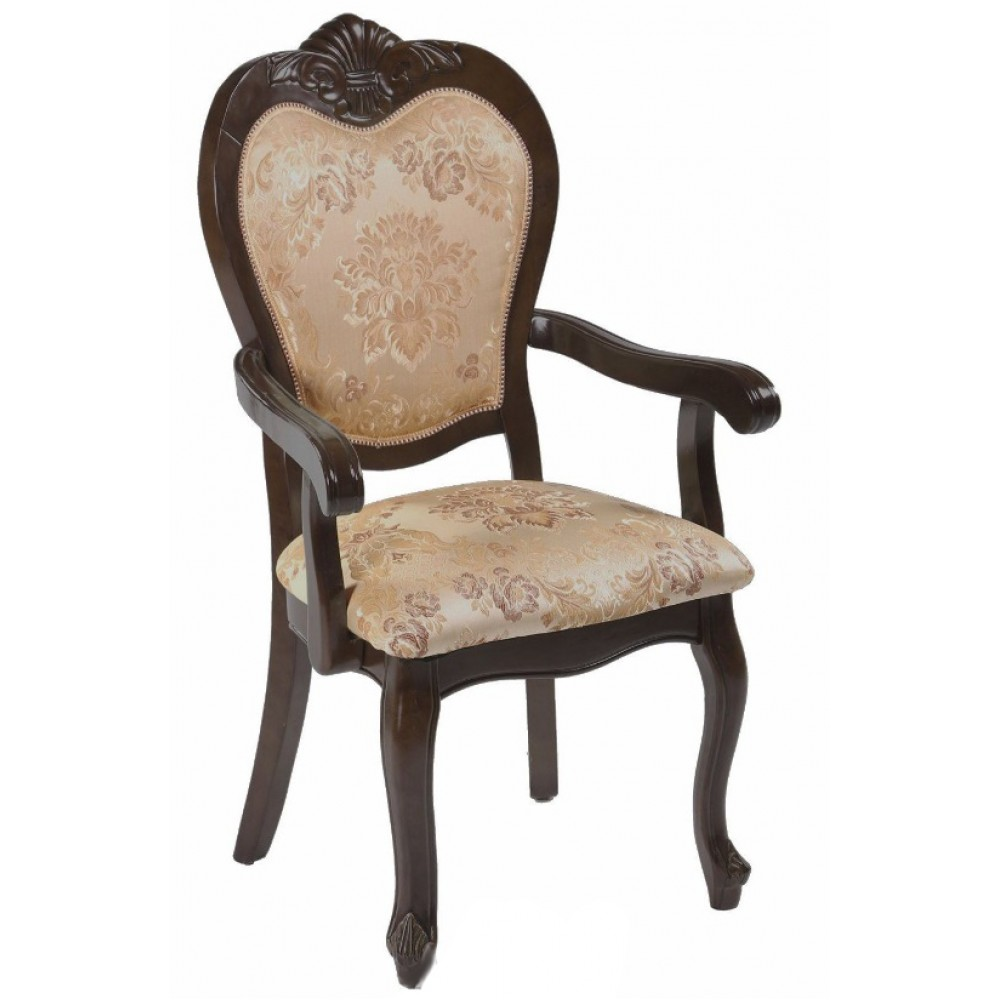 Кресло мягкое 2606 A (MK-1309-HG) Темный орех