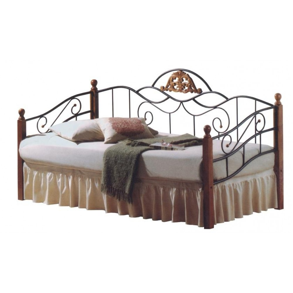 Кровать PS 402 200x90 (MK-1916-RO) Темная вишня