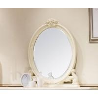 Зеркало овальное Милано (8802-A MK-1802-IV) Слоновая кость