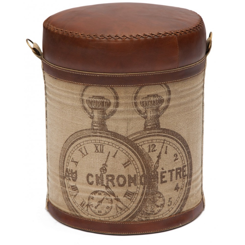 Пуф Хроно (Chrono) 6409 — коричневый