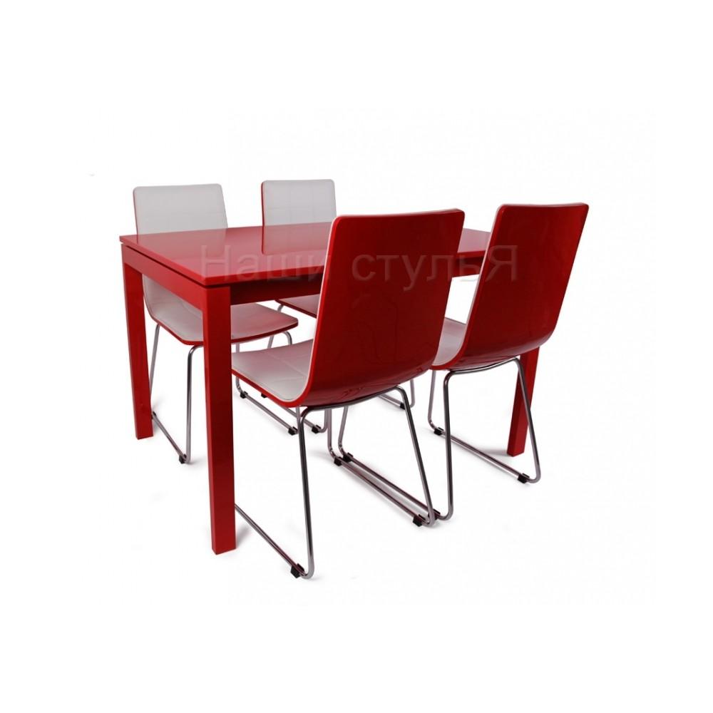 Стол LMT-102 красный лак