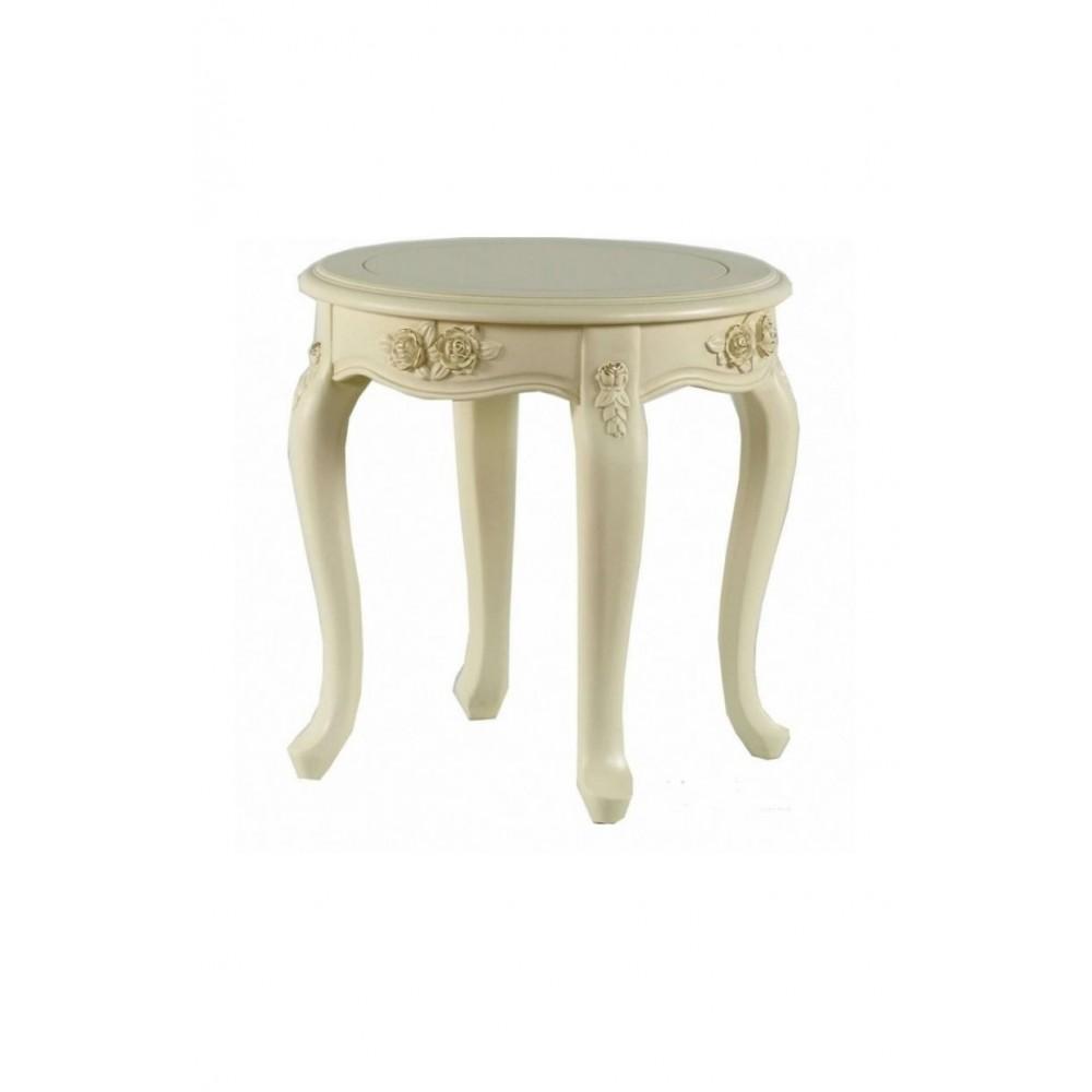 Столик чайный Милано (8801-В MK-1819-IV) Слоновая кость