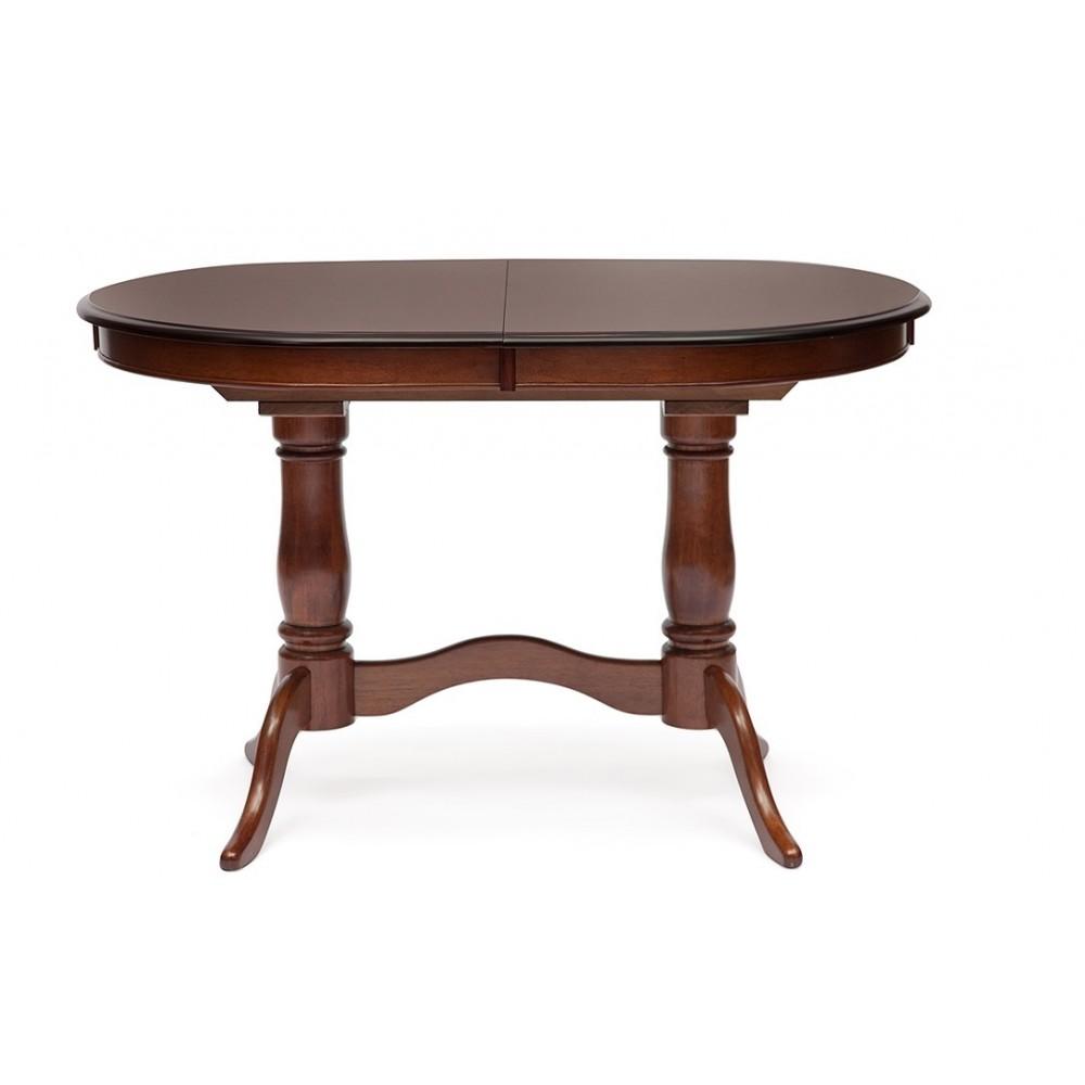 Стол обеденный Ева (Eva EV-T4EX) Maf Brown — Maf brown (коричневый в рыжину)