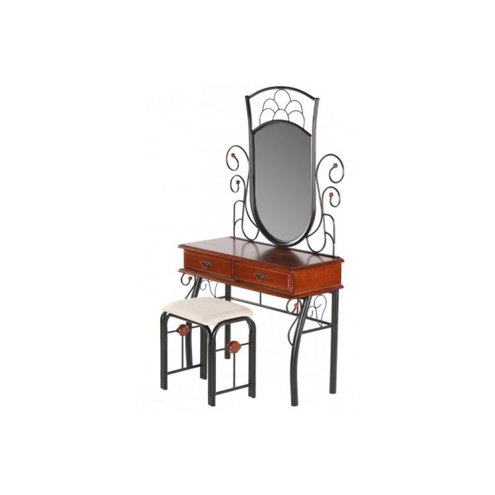 Туалетный столик с банкеткой FD 247 (MK-1931-RO) Темная вишня