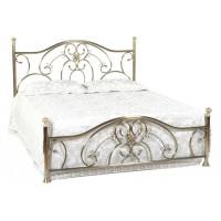 Кровать 9701 200x160 (MK-2208-AB) Античная медь