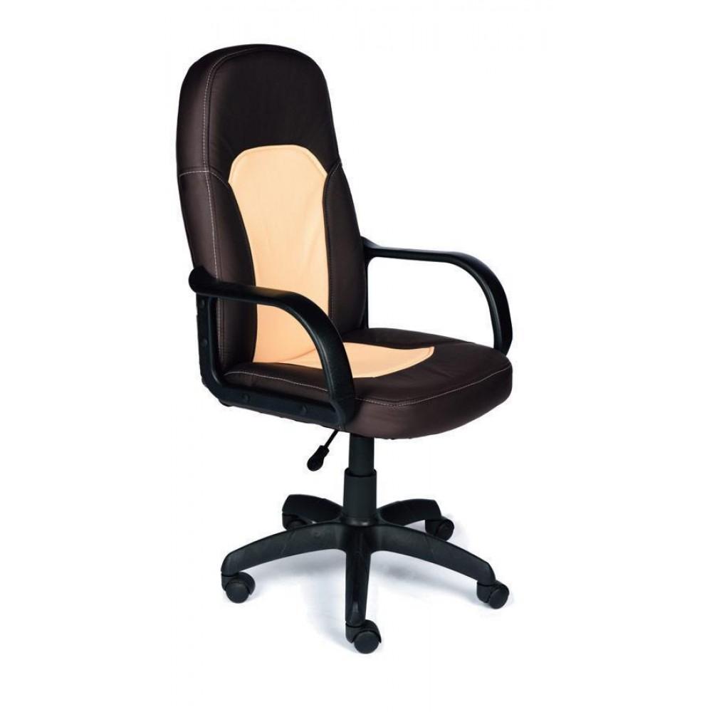 Кресло компьютерное Парма (Parma) — черный/бежевый