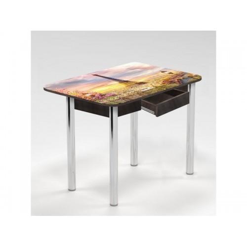 Стол Триумф 1,0 нераздвижной с ящиком