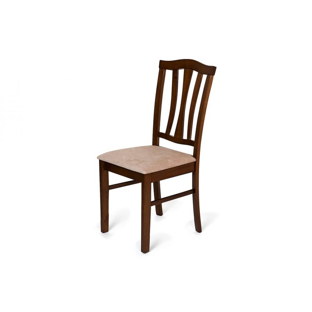 Стул с мягким сиденьем (СТ 8162) Тёмный дуб — Тёмный Дуб