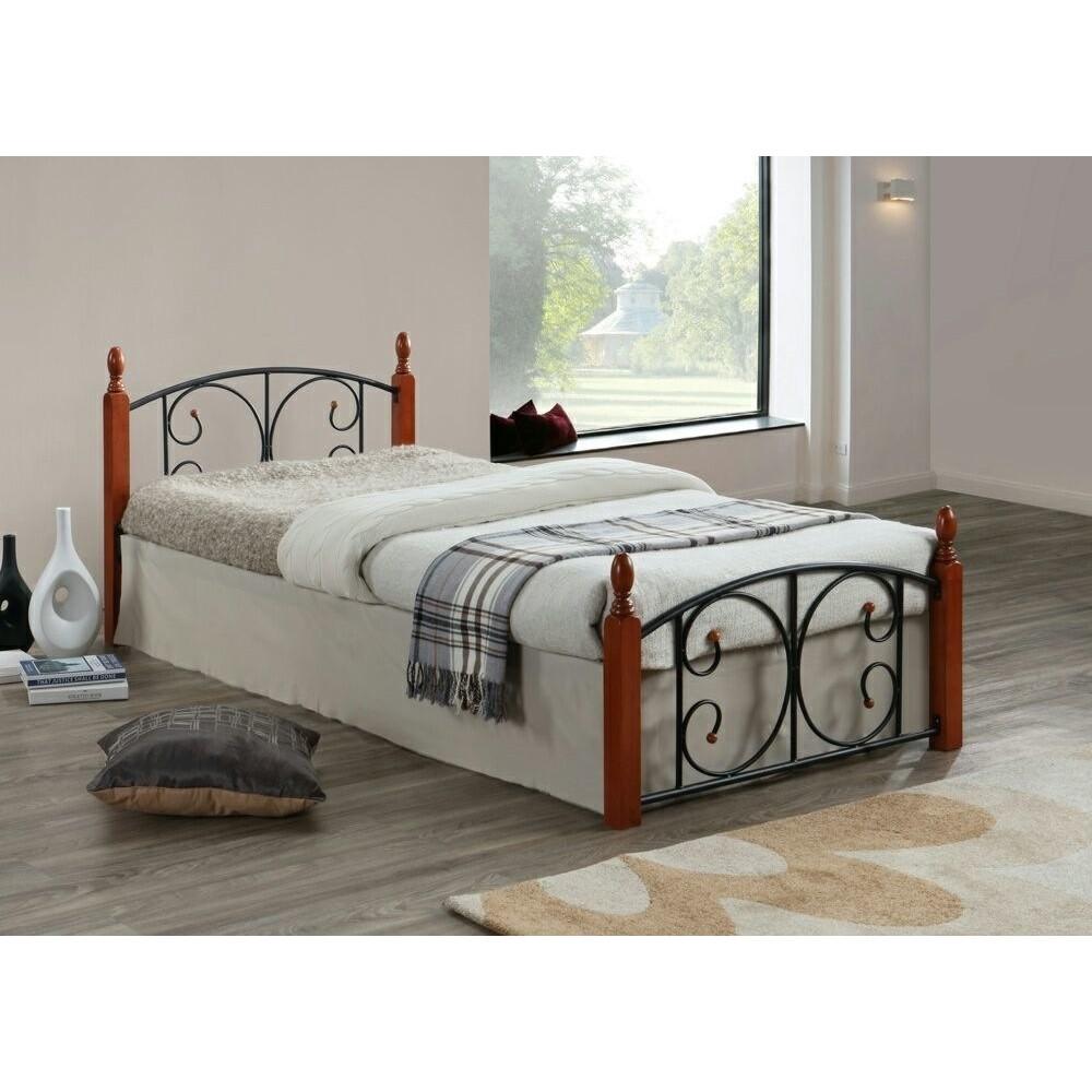 Кровать MK-5222-RO 200x160 (MK-5222-RO) Темная вишня